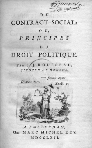 the different ideas of liberty in rousseau s thought writework the social contract