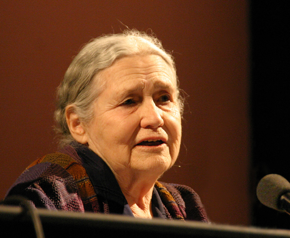 doris lessing an essay An essay or paper on doris lessing's prisons we choose to live inside  in the book, prisons we choose to live inside , doris lessing states that  young people are not interested in history because she believes that a young person does not want to learn about facts that happened in the past they would rather believe things that are made up by themselves or others.