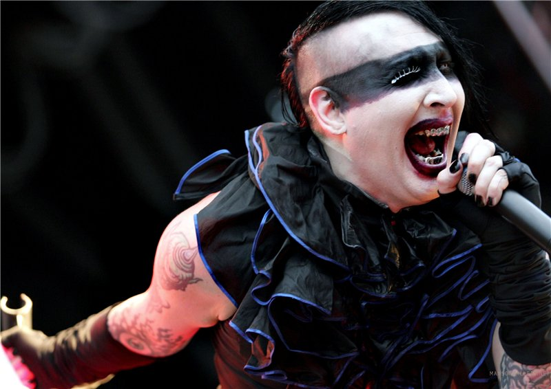Marilyn Manson–Columbine High School massacre controversy