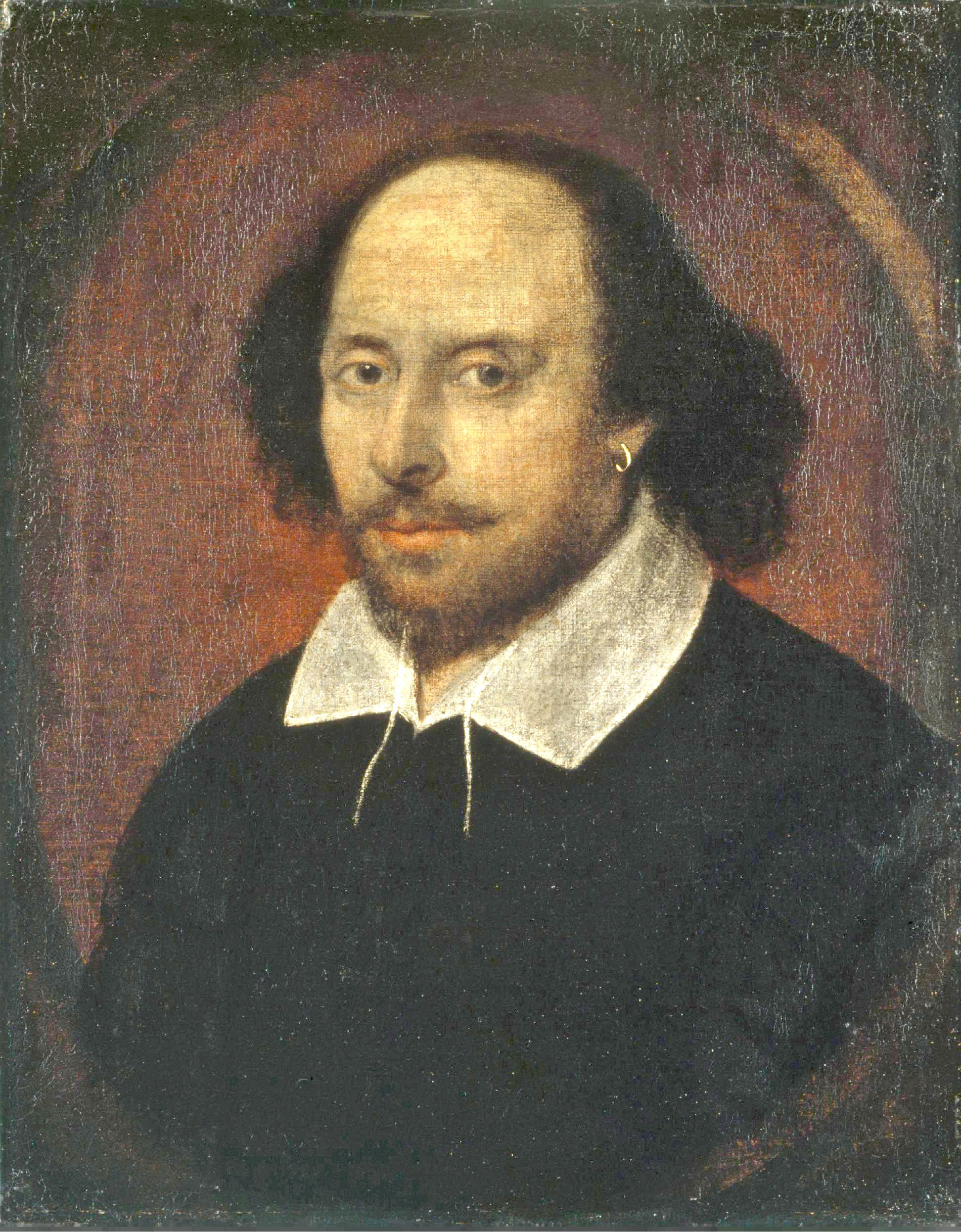 shakespearen sonnet 73 and sonnet 116  this was long thought to be the only portrait of william shakespeare that had any claim