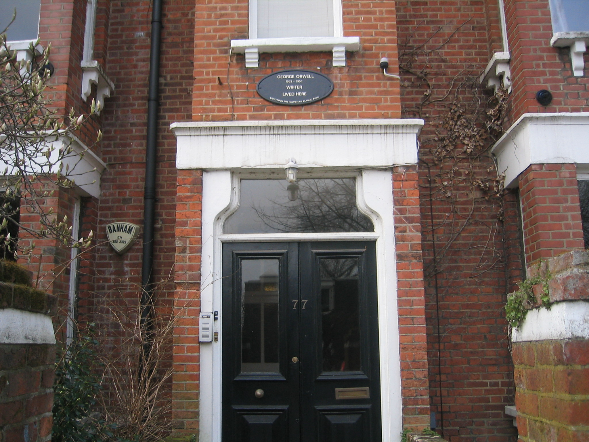 critical analysis of george orwell s essay shooting an elephant orwell s former home at 77 parliament hill hampstead