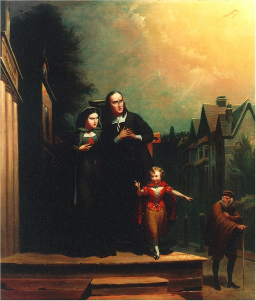 the worst of them all an essay on the scarlet letter by  the scarlet letter 1860 by t h matteson oil on canvas