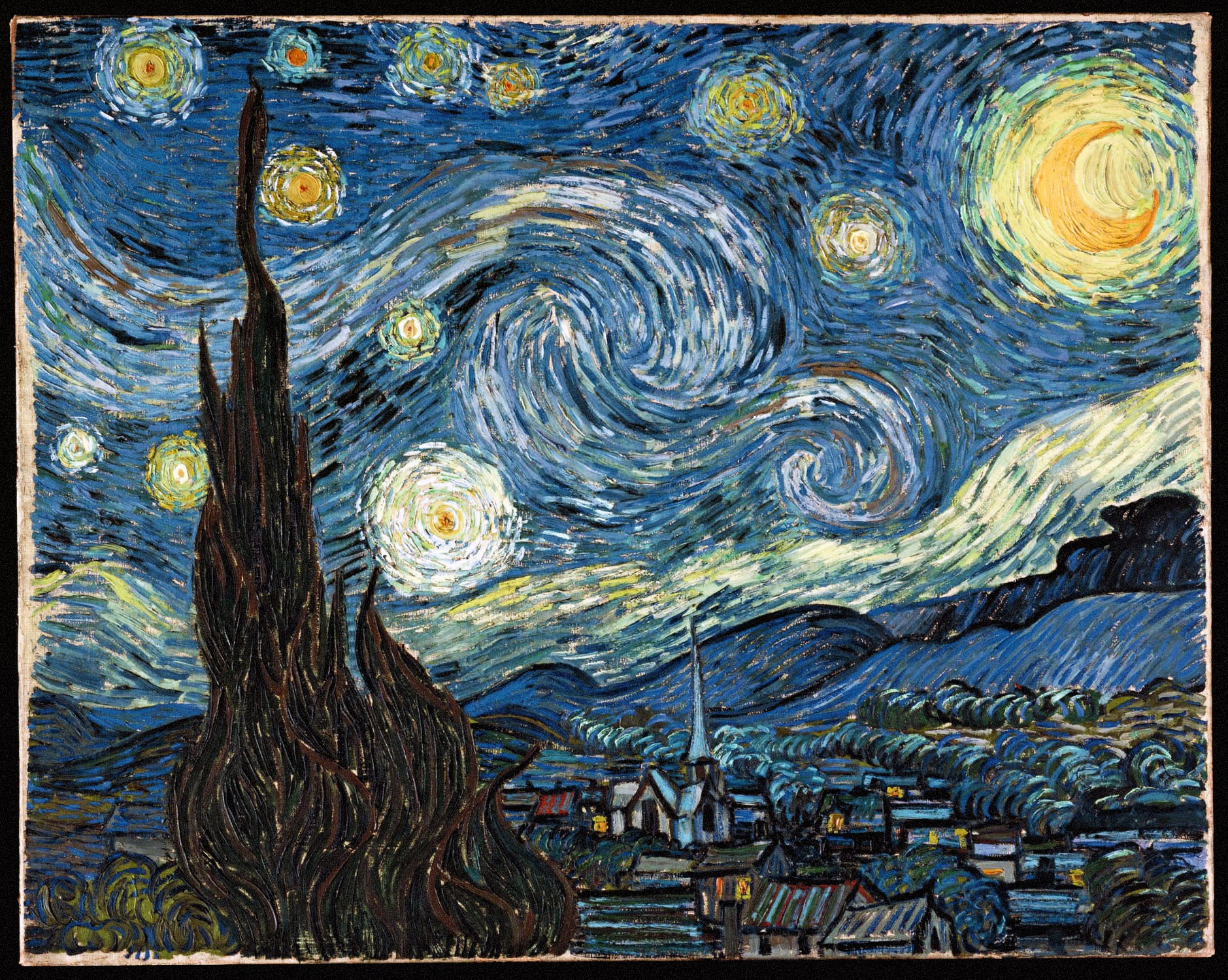 vincent van gogh starry night analysis