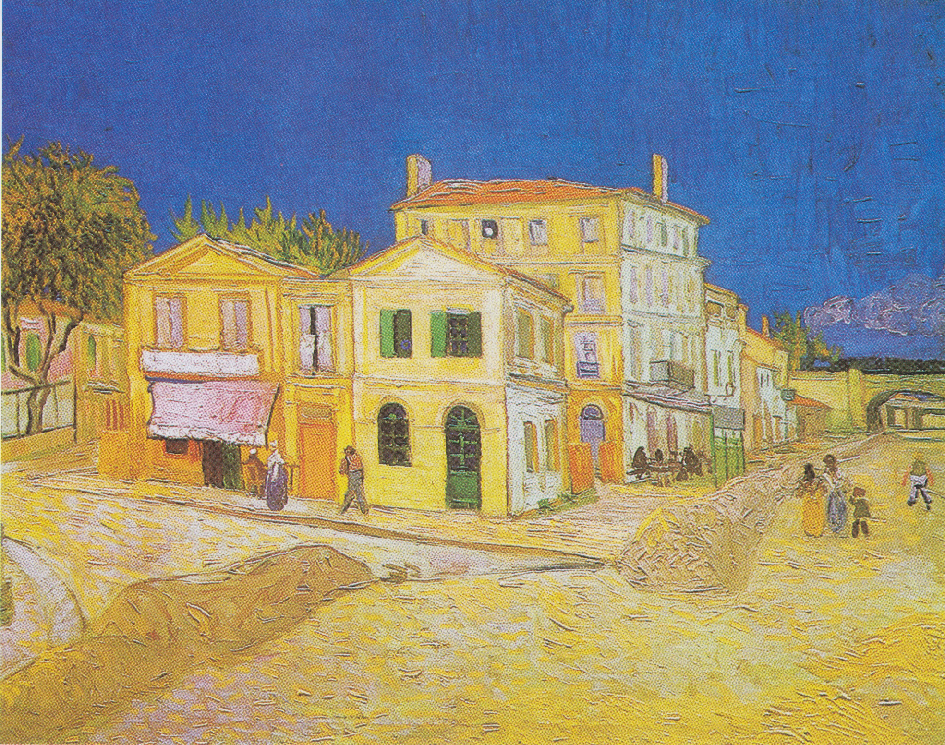 vincent van gogh is one of history s most famous artists  the yellow house vincent s house
