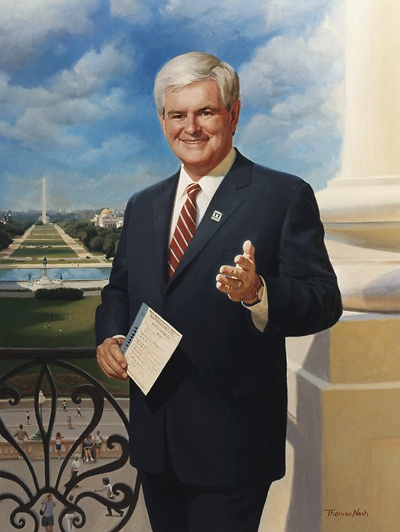 English: Former U.S. Representative And Speaker Of The House Newt Gingrich  (R GA