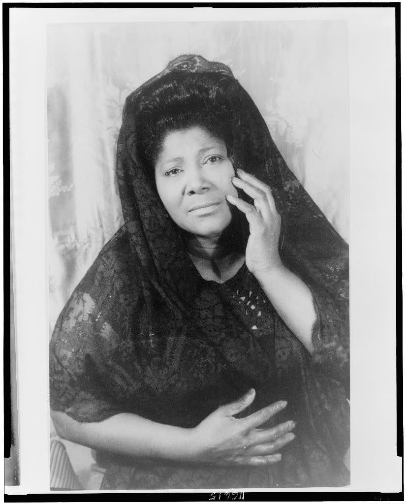 woman in black essays