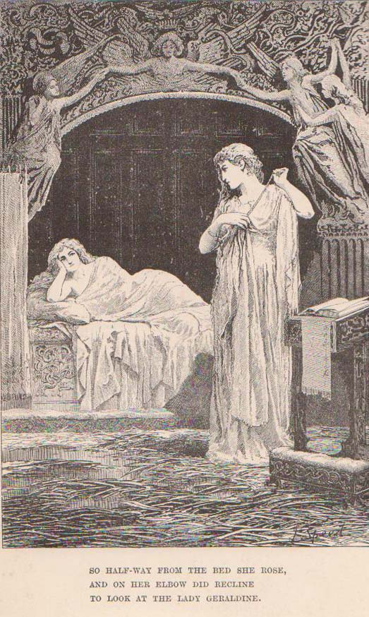 an analysis of the ambiguous plot in christabel by samuel taylor coleridge