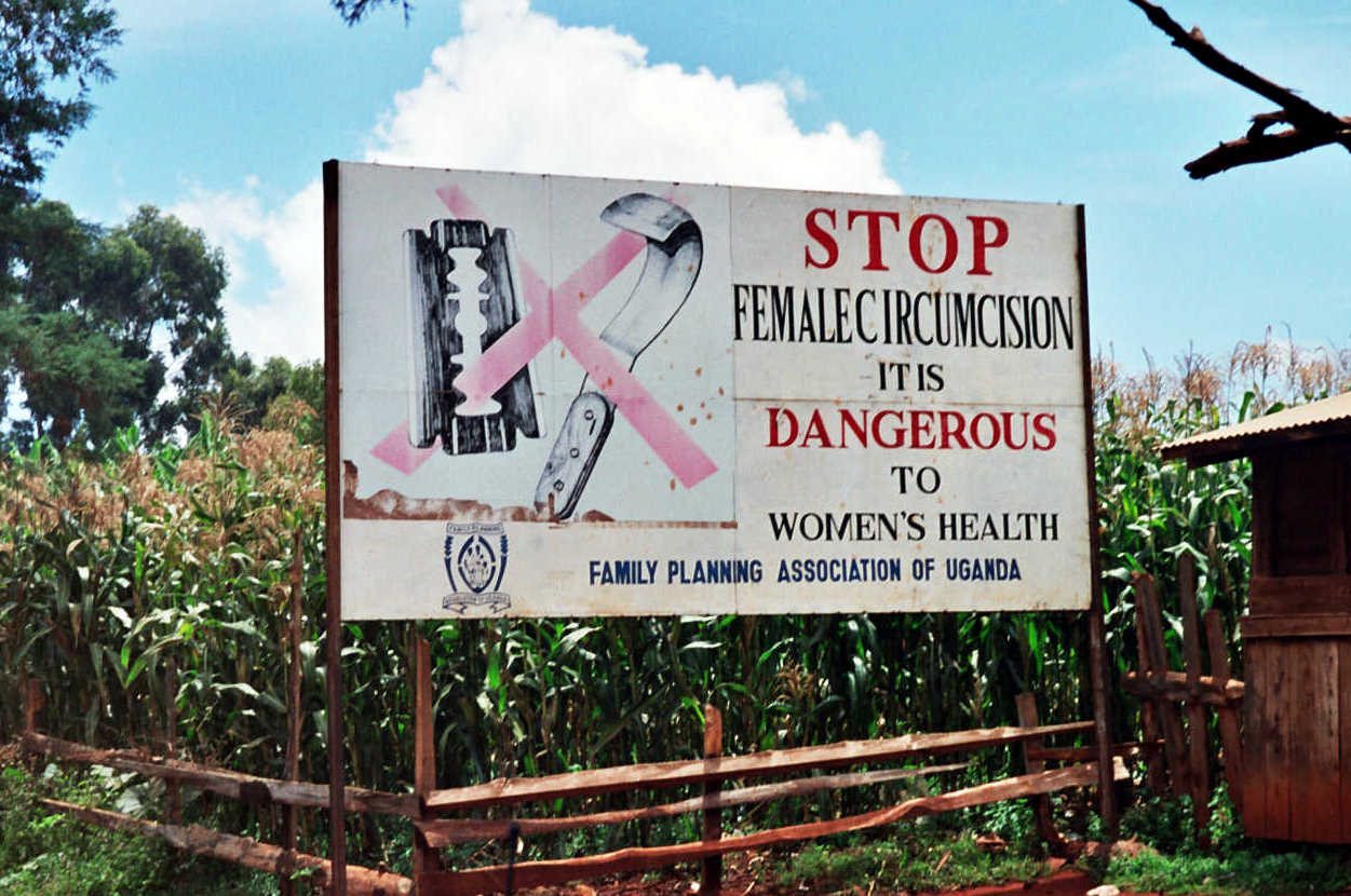 female genital mutilation long term psychological effects english a campaign against female genital mutilation a road sign near uganda