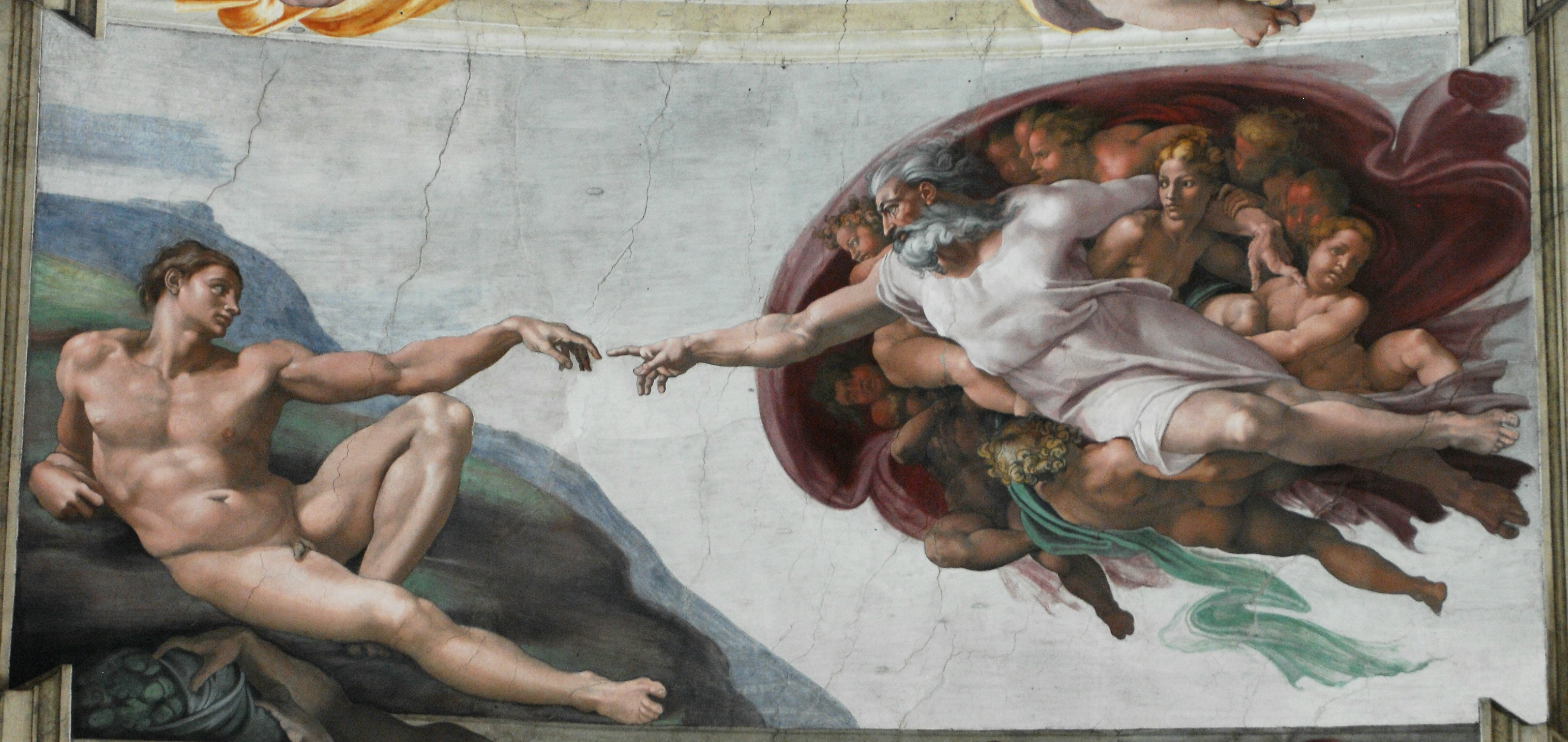 michelangelo s sistine chapel writework creation of man