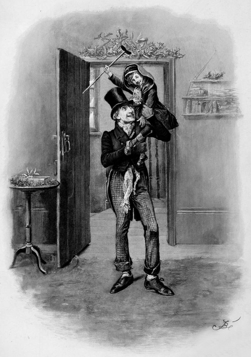 how does charles dickens portray the cratchit family in a christmas carol essay How charles dickens redeemed the spirit of christmas  then scrooge finds himself at the modest holiday feast of the cratchit family, where he meets tiny tim, their ailing youngest child, and.