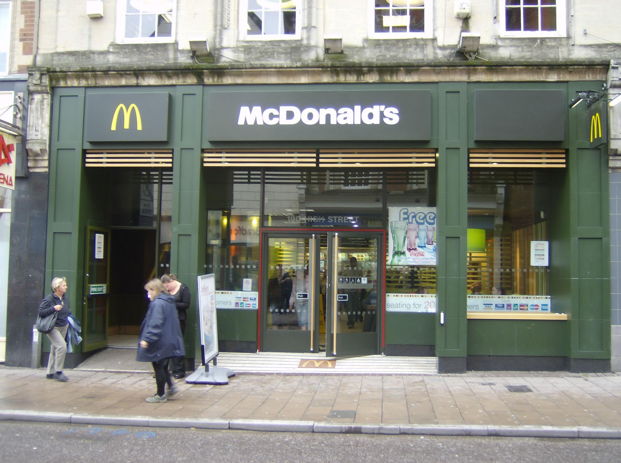 Report On Mcdonalds Writework