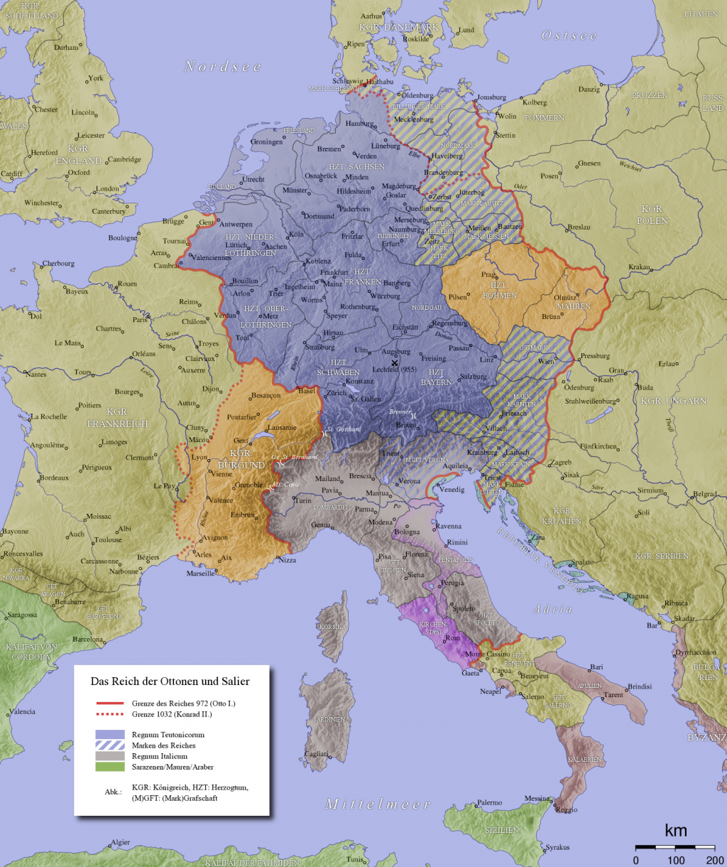 a essay on otto the great writework english map of the holy r empire in the 10th century