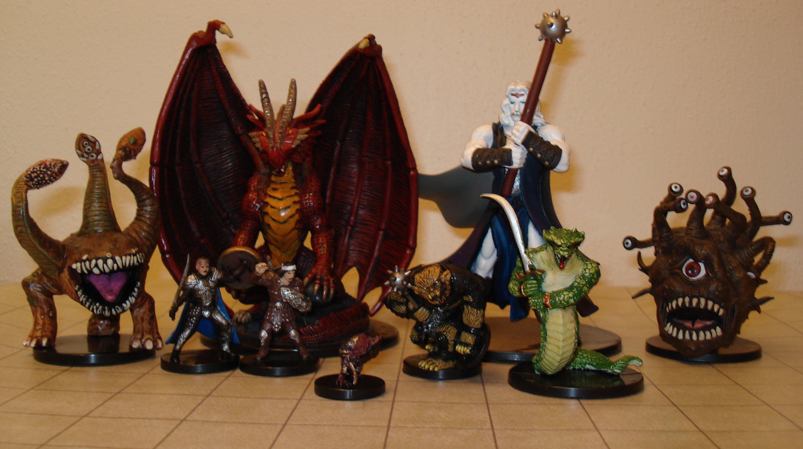 Подземелье и драконы своими руками