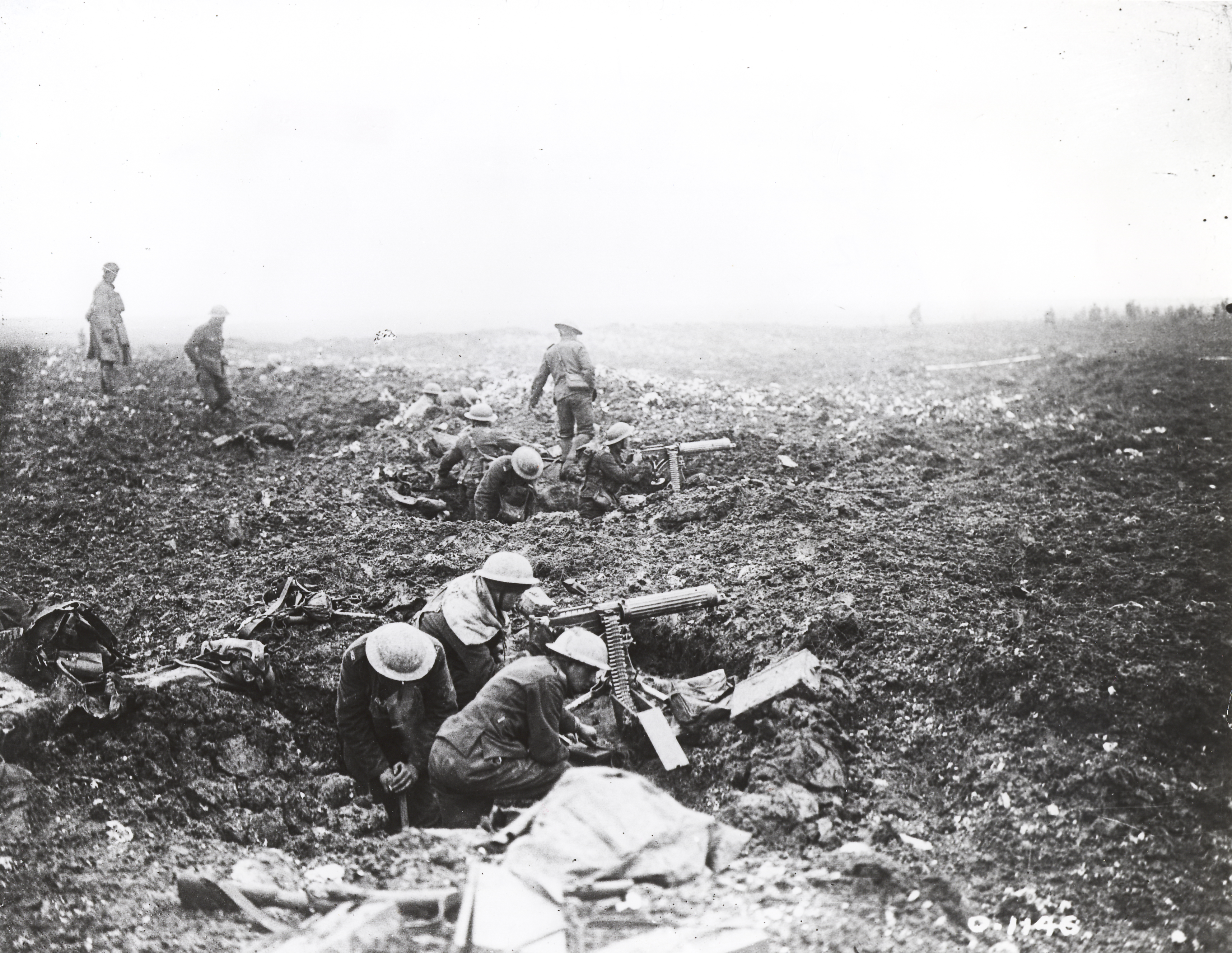 an essay on the on four defining moments in in history english canadian machine gunners dig themselves in in shell holes on vimy ridge