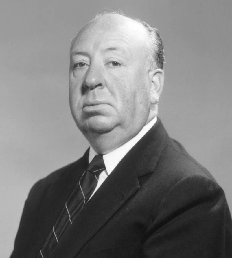 English Studio Publicity Photo Of Alfred Hitchcock