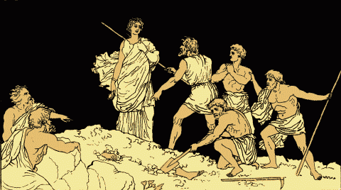 an analysis of the theme of death in the play antigone by sophocles Ancient greece - sophocles - oedipus at colonus (tragedy, greek, 406 bce it is sophocles' last surviving play, written shortly before his death in 406 bce at the time that oedipus at colonus.