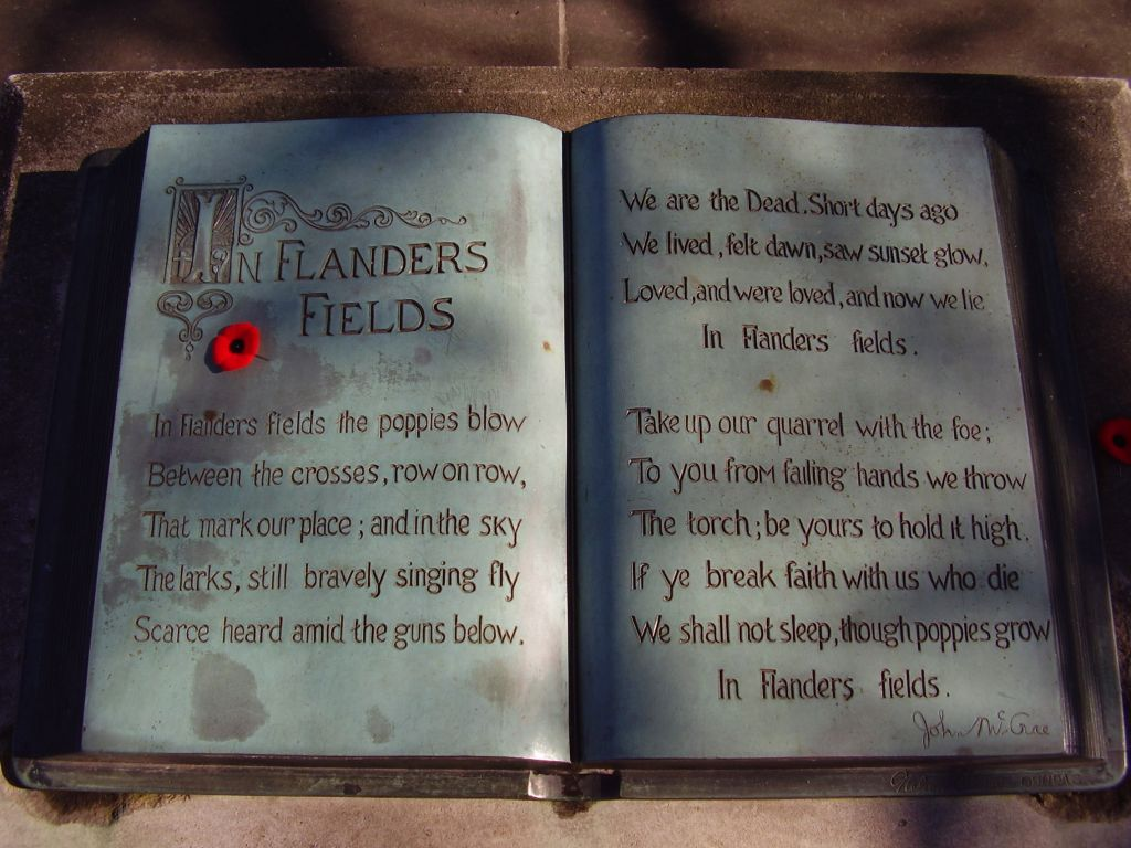 "in flanders fields a symbolism analysis essay One of the most significant war symbol for the soldiers who died fighting in wars  for their own countries in his poem ""in flanders field"", john mccrae clearly  portrays his feelings about the death of  written from the point of view of a dead  person, ""in flanders field"" was the most popular poem of the era  related  essays."