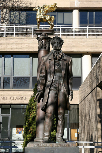 Памятник Пушкину в Вашингтоне