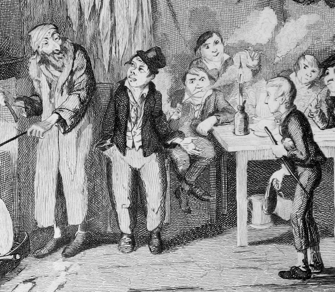 a description of poverty and class issues in the old world described in the novel oliver twist