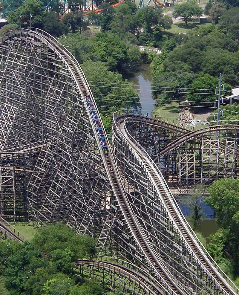 Roller coaster works