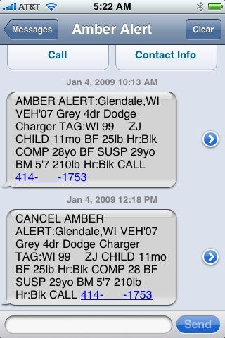 amber alert system essay In october 2001, the national center for missing and exploited children ( ncmec) launched a campaign to have the amber alert systems.