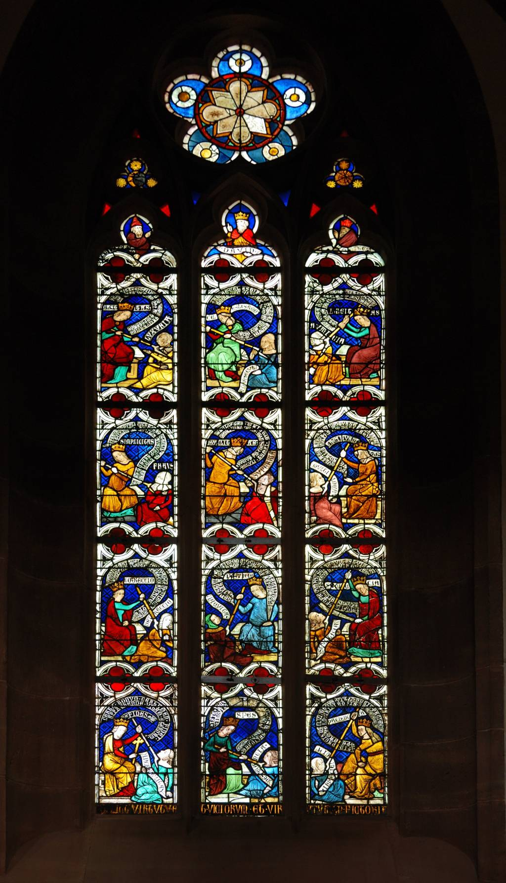 Church Stained Glass : Montesquieu quot the persian letters parable of