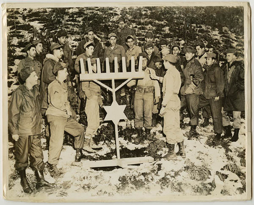 even the winners are losers generals die in bed by charles yale   iers celebrating hanukah outside in korea