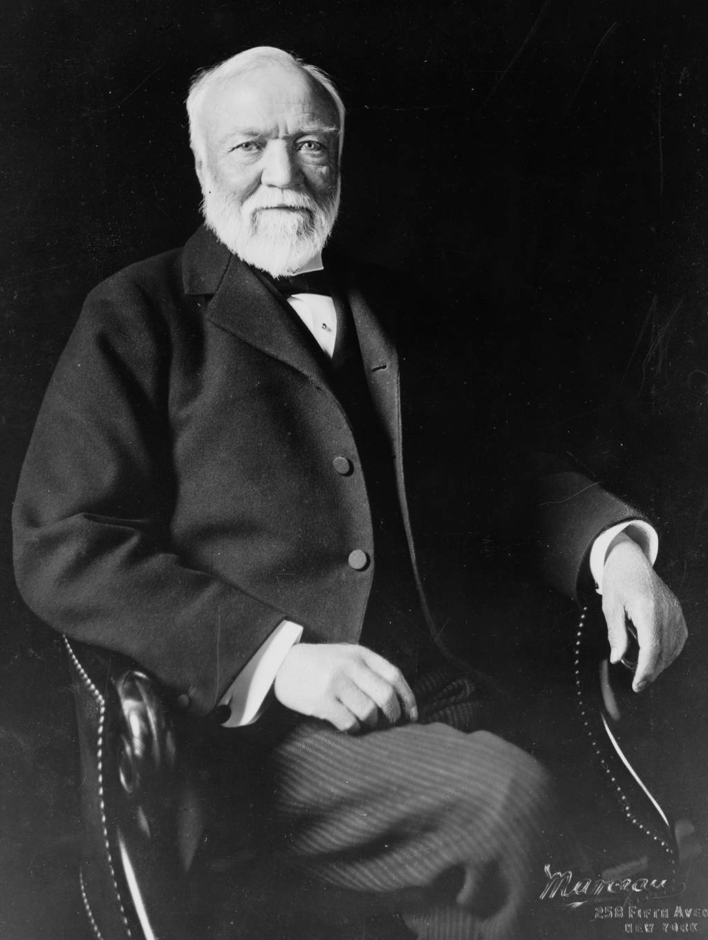 where nineteenth century entrepreneurs robber barons  andrew carnegie american businessman and philanthropist