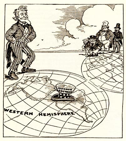 foreign policy and the monroe doctrine essay The monroe doctrine, now embodying the ideas of monroe as well as those of polk, lincoln, and others, would continue to be a guiding principle for united states foreign policy into the twentieth century.
