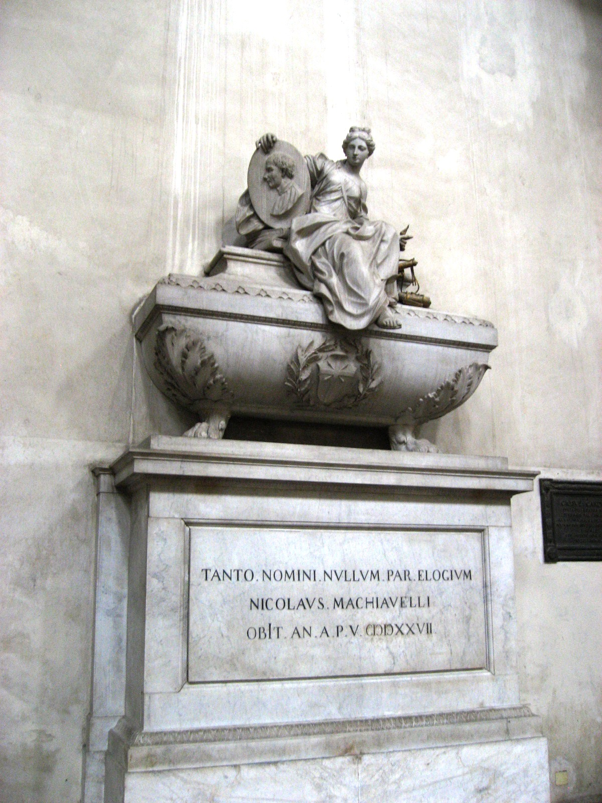 the prince by niccolo machiavelli vs book of the courtier by english tomb of niccolatildesup2 machiavelli in the basilica of santa croce in florence