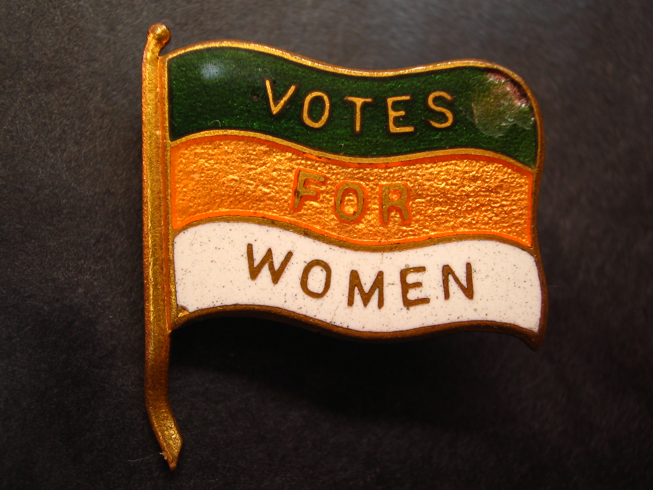 edexcel history coursework votes for women assignment one  english photograph of an early 20th century british women s suffrage lapel pin