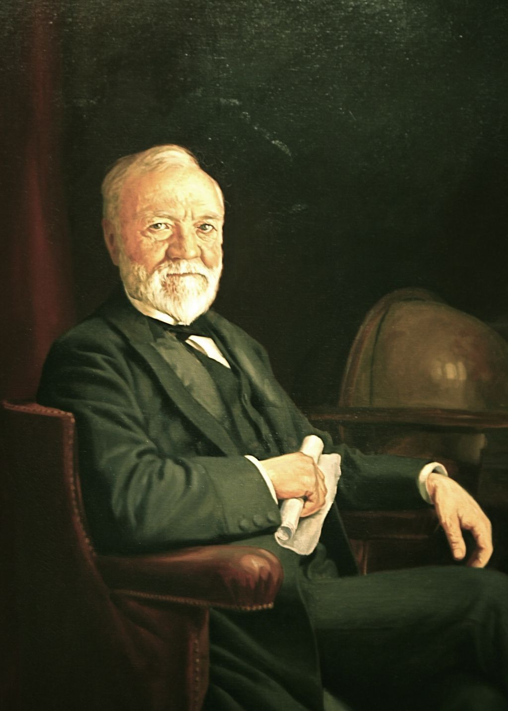 in his essay on wealth andrew carnegie argued that Andrew carnegie was a scottish-american industrialist who led the enormous   many people have argued whether carnegie was a captain of industry or a   and more wealth, without limit was tied to his conviction that it was his duty to give .