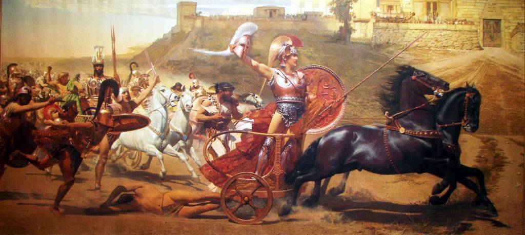 achilles the great warrior in homers iliad View and download iliad essays examples this is not to say that the iliad is lacking in tales of great warriors  in homer's iliad, achilles undergoes.