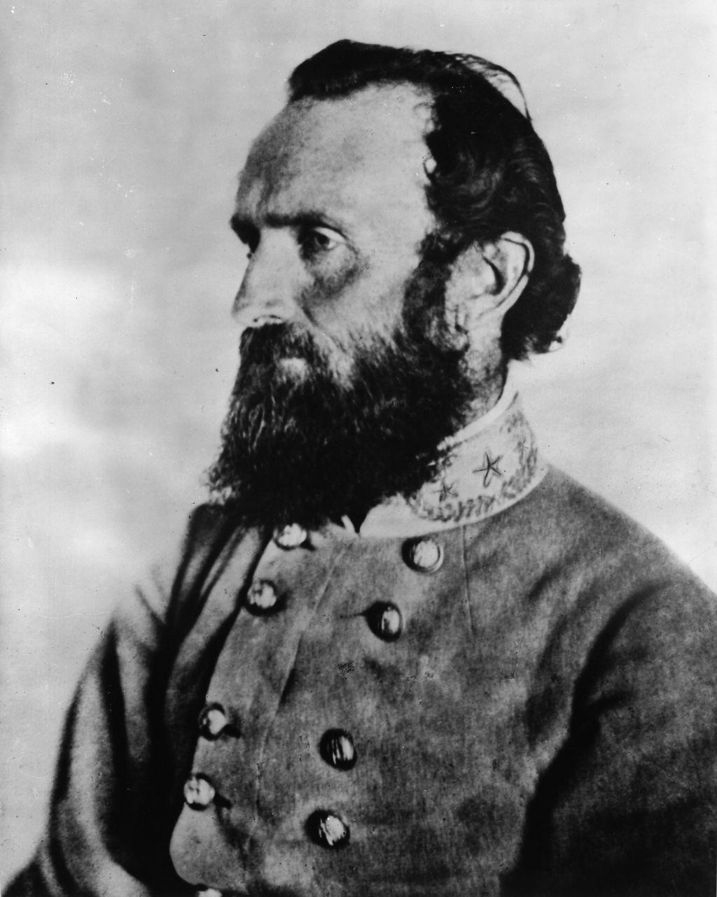 the legendary general stonewall jackson