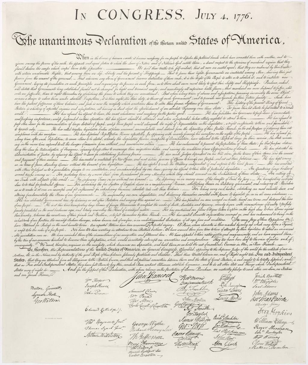title was the federalists papers really propaganda in the same english this is a high resolution image of the united states declaration of independence