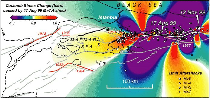 the causes material damage effects and human costs of the izmit earthquake in turkey in 1999 By using basic concepts of actor network theory, social effects of 1999 marmara earthquake, turkey and 2004 tsunami, indonesia are compared although methodological limitations of this theory in using quantitative techniques, the results of surveys conducted one year after both marmara earthquake and 2004 tsunami are also used to increase the.
