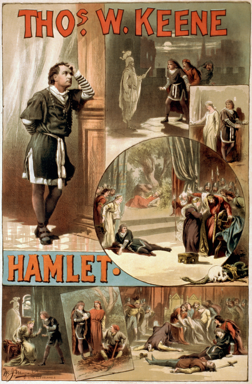 hamlet time is of the essence procrastination writework a circa 1884 poster for william shakespeare s hamlet starring thos w keene