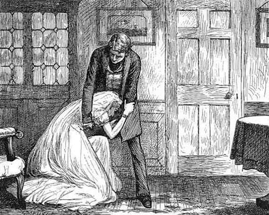 Great Expectations Miss Havisham Illustration