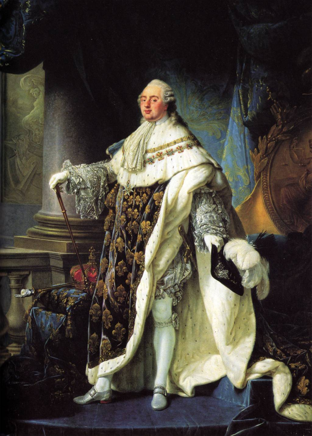french revolution reign of terror causes and effects  portrait of louis xvi