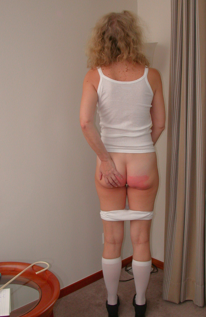 frau spanking