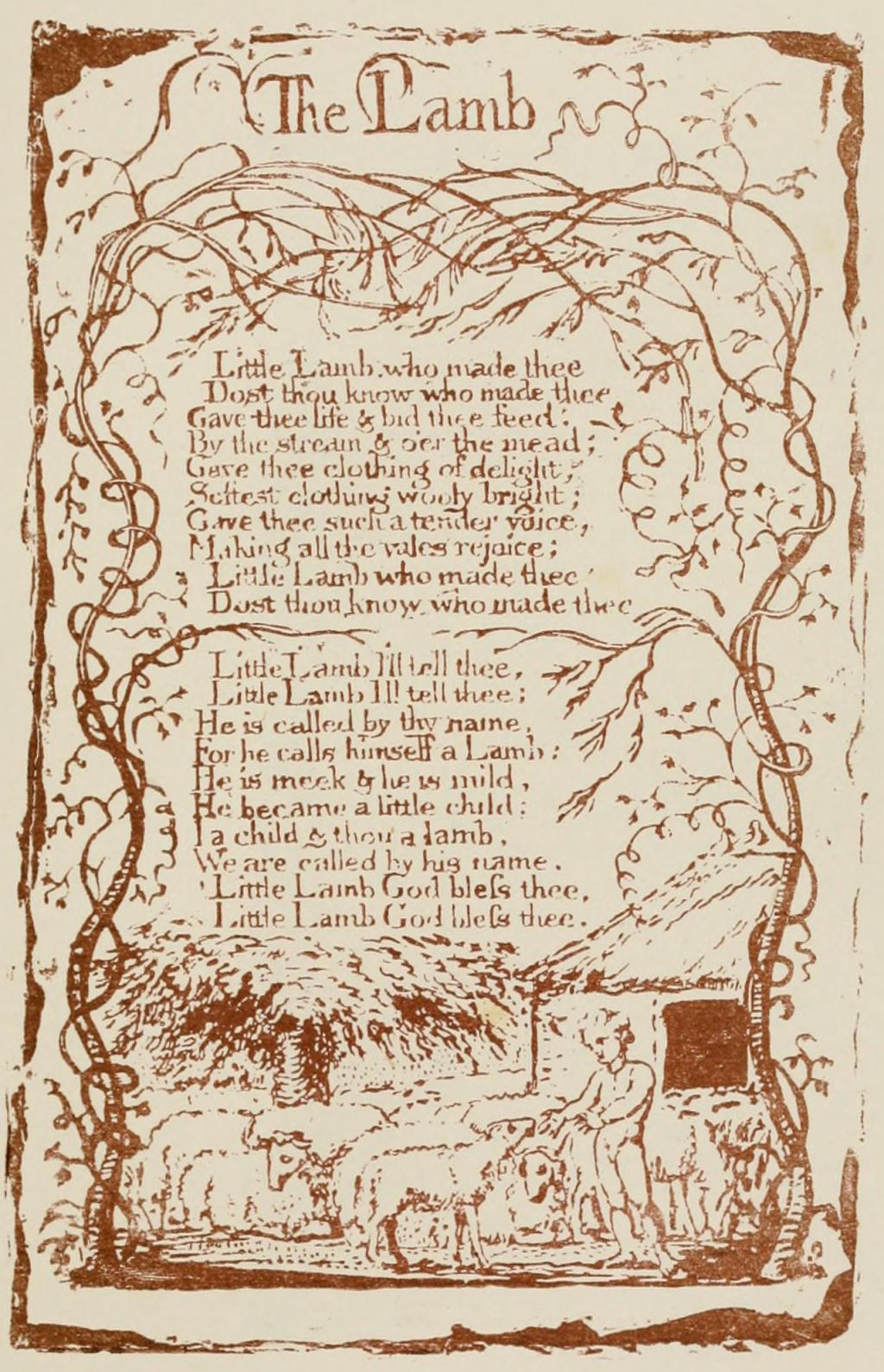 The lamb william blake essay