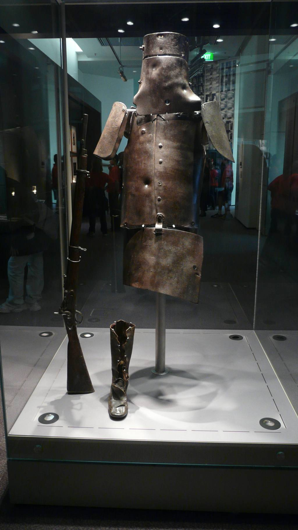 an analysis of the jerilderie letter to determine whether ned  english ned kelly armour located at the state library of victoria melbourne