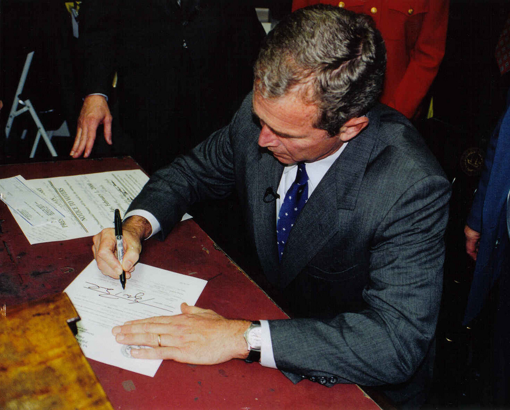president bush on iraq essay Read this social issues essay and over 88,000 other research documents president bush president george w bush began his first term as president on january 20, 2001 and ended on january 20, 2005.