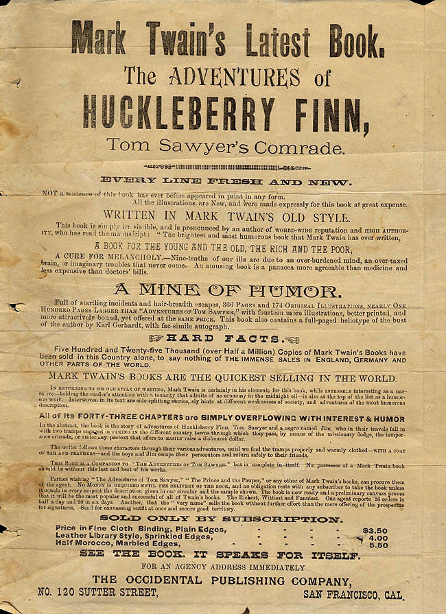 the adventures of huckleberry finn essay 5 essay The adventures of huckleberry finn essays are academic essays for citation  these papers were written primarily by students and provide critical analysis of.