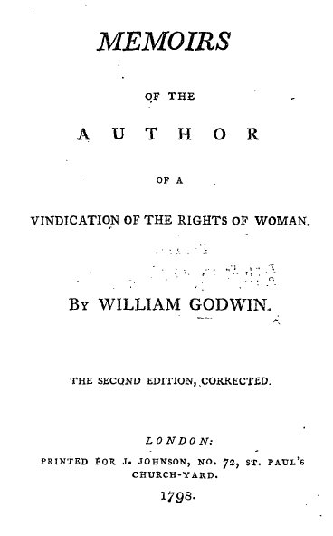 mary wollstonecraft published essays on the rights of women A vindication of the rights of women is a book-length feminist essay by british writer mary wollstonecraft, published in 1792 a vindication of the rights of women called for female equality.