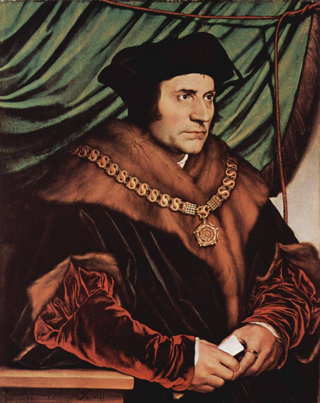 a man for all seasons by robert bolt word essay on the sir thomas more wearing the collar of esses as lord chancellor by hans holbein the