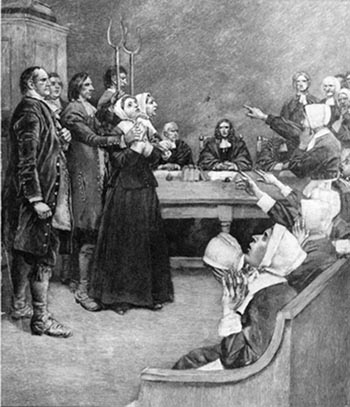 Puritans and the salem witch trials essays