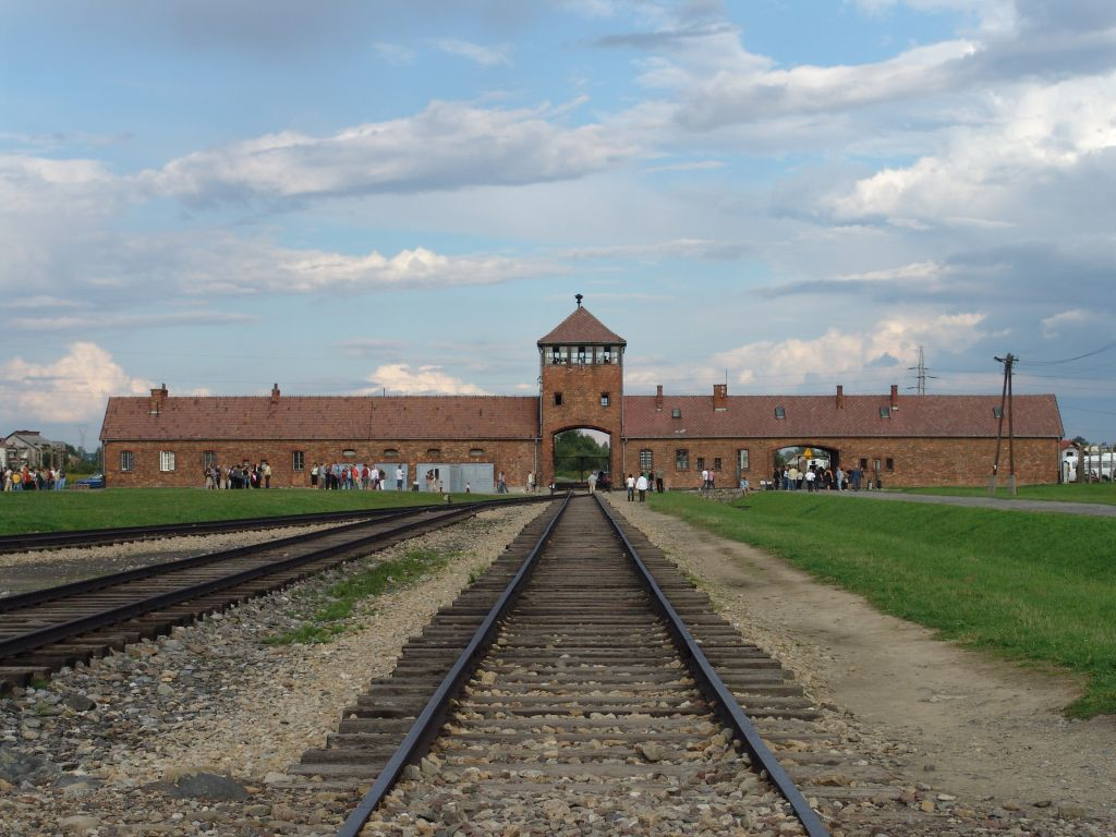 How To Start A Proposal Essay English The Main Gate At The Former Nazi Death Camp Of Birkenau Note That Business Essay Writing also Essay On Healthy Foods Auschwitz This Essay Describes The Nazi Concentration Camp Known As  Sample Proposal Essay