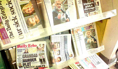 have newspapers become a medium of the past