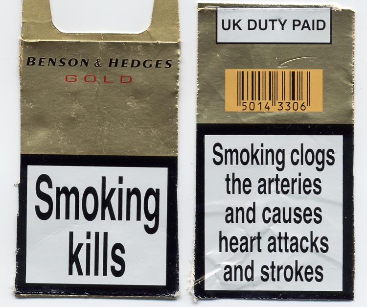 warnings of cigarette packets graphic essay The tobacco control act gave fda two years to issue regulations that would  require graphic warning labels on cigarette packs depicting the.